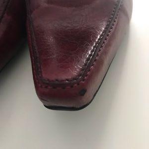 Franco Sarto Shoes - Franco Sarto Women's Loafer Pump, Dark Red, Sz 7